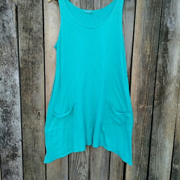 c0f104d669 Fresh Produce Other - {Fresh Produce} Beach Swim Cover-up Dress sz XL