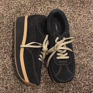 Xhilaration Shoes - Xhilaration 7.5 rubber sole wedge heel sneakers