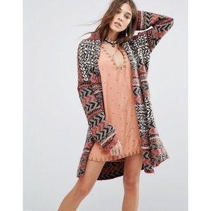 Free People Sweaters - • free people chunky long sweater size M•