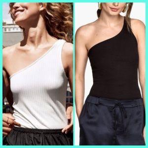 Tops - Trendy !!!💥One - Shoulder Top!!!🌸❤️👒