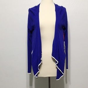Elle Sweaters - !Lowest price! Elle blue polka dot cardigan