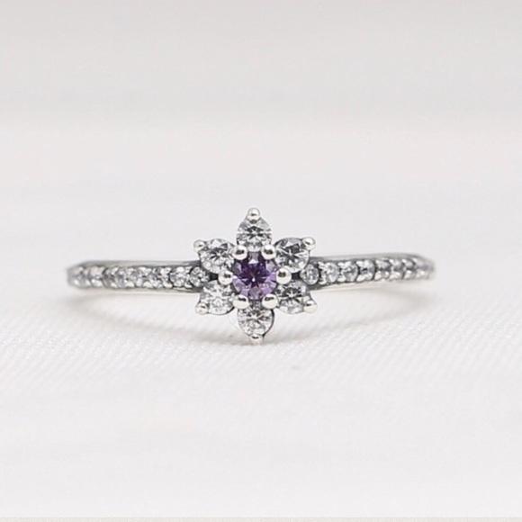 528bdcb10 Pandora Jewelry | 10 Min Sale Forget Me Not Silver Ring | Poshmark