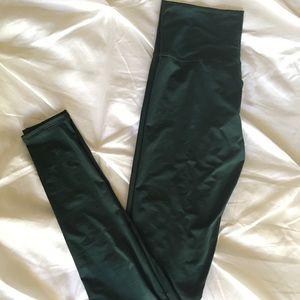 U Pants - Lightweight Forest Green Upsidedownmama Yoga Pants