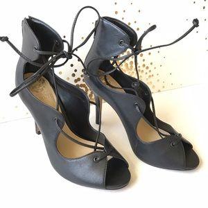 Vince Camuto Shoes - Vince comedo black lace up heels sandals