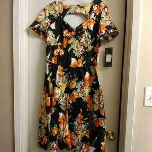 Voodoo Vixen Dresses & Skirts - Voodoo Vixen pinup dress