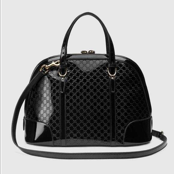 543cb5ba0f4660 Gucci Bags   Nice Microssima Patent Leather Bag   Poshmark