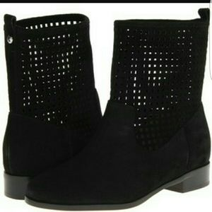 MICHAEL Michael Kors Shoes - Micheal Michael Kors Graham Suede perforated boots