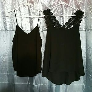 Alythea Tops - NWT Alythea black blouse bundle
