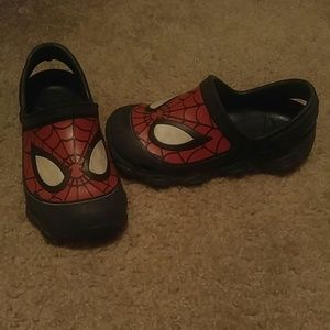 CROCS Other - Spiderman crocs