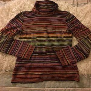Missoni Sweaters - Missoni Sport Multicolored Turtleneck Sweater