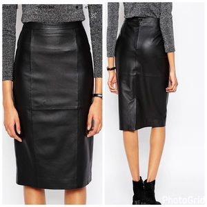 ASOS Dresses & Skirts - ASOS Leather Skirt - 100% Real Leather