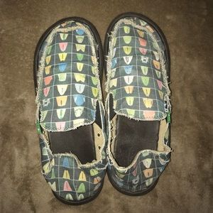 Sanuk Other - ❗️Like New - Sanuk's Slip On's