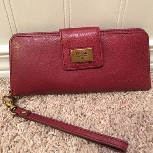 Fossil Handbags - **Like New** Fossil Leather Wallet
