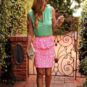 Lilly Pulitzer Dresses & Skirts - Lilly Pulitzer Peplum Skirt