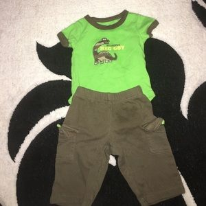 """Carter's Other - 3 months """"grandpas big guy"""" outfit"""
