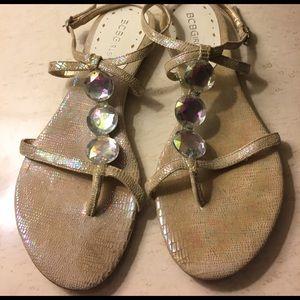 BCBGirls Shoes - BCBGirls leather sandals