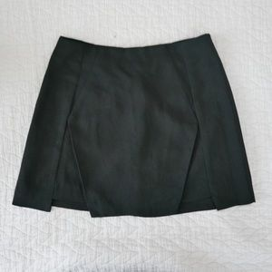 Black skirt with cut out detail