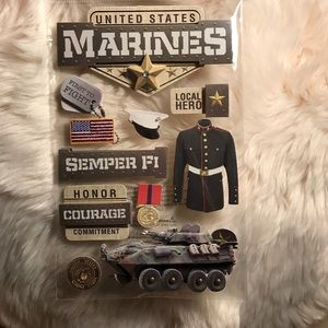 Other - Marines Stickers (U.S.M.C)