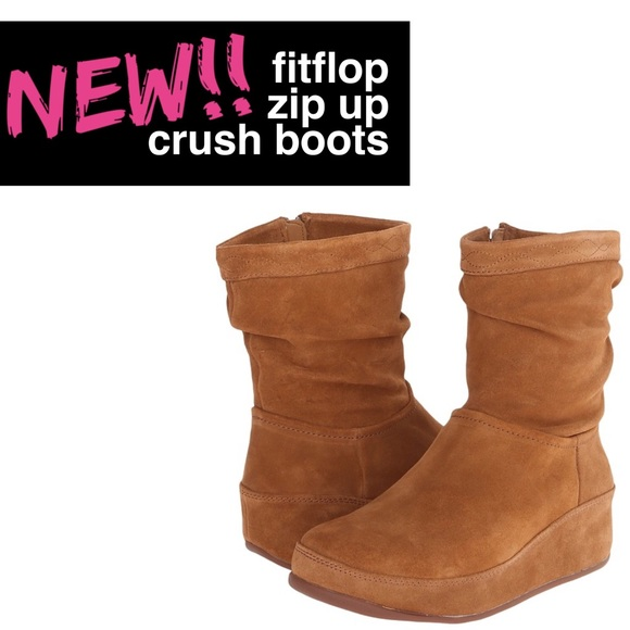 111e42b44a41 FitFlop Zip Up Crush Boots