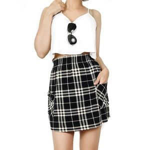 Urban Outfitters Dresses & Skirts - Urban outfitters silence + noise plaid skirt