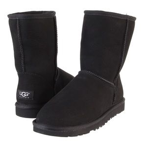 UGG Shoes - Authentic Black Uggs Classic Short