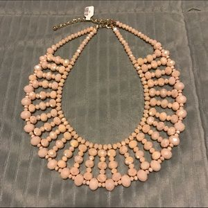 NWT Anthropologie beaded statement necklace