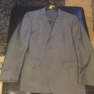 Z Zegna Other - Zegna Suit - Gloss Grey Chambray - 42R