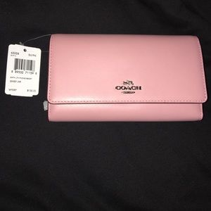 Coach Handbags - COACH WALLET PINK