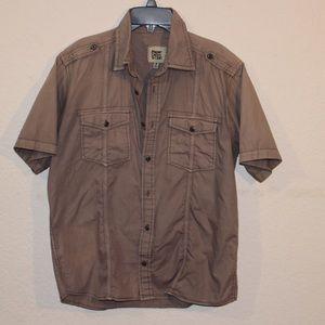 Men's Paper Denim & Cloth Button-Down SS Shirt