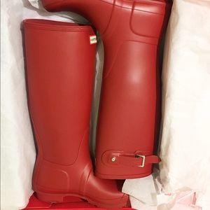 Hunter Boots Shoes - Hunter Boots (Women's Original Tall Tain Boots)