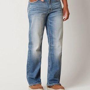 BKE Tyler buckle jeans.
