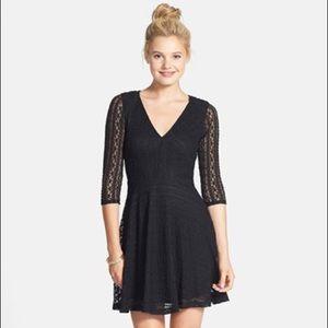 Vintage (Nordstrom BP) Lush Lace Skater Dress