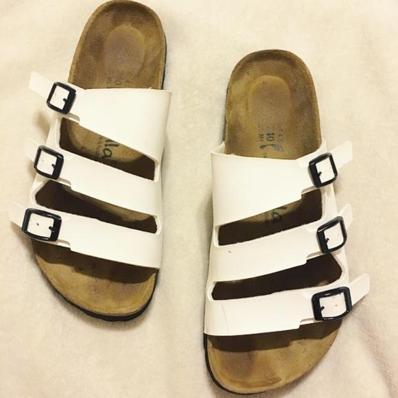 ca6aa32cae48f6 Birkenstock Shoes - ✨Need to sell ASAP!✨ White Betula Birkenstocks