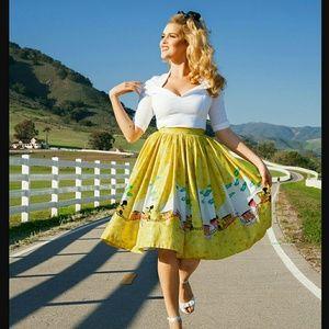 Pinup Girl Clothing Mary  Blair Trains