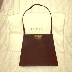 Gucci Handbags - VINTAGE NEW GUCCI HANDBAG