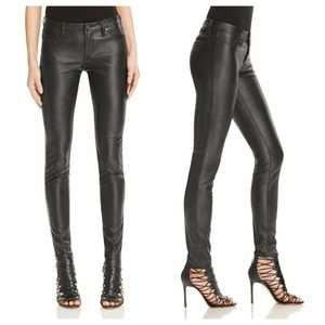 Blank NYC Pants - BLANKNYC Faux Leather Skinny Pants in Blacked Out