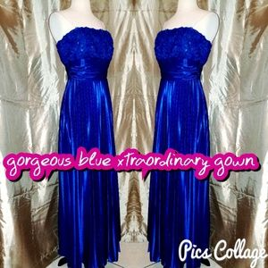 Xtraordinary Dresses & Skirts - Gorgeous blue nwt xtraordinary gown