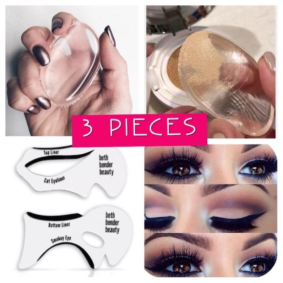🎉HP June 26🎉Silicone blender & cat eye stencils Boutique