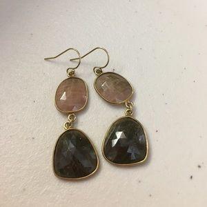 Jewelry - sapphire earrrings in gold