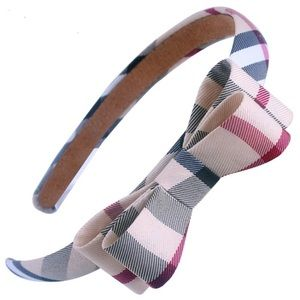 Burberry Accessories - Burberry Bow Tie Headband - So Chic!