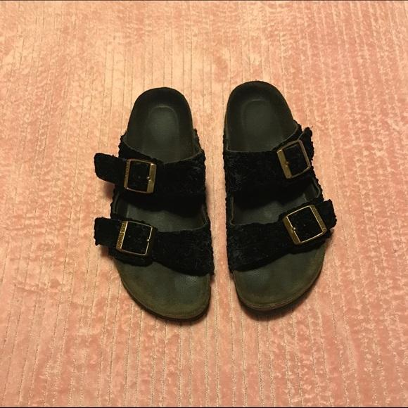 84e4c9b33 Birkenstock Shoes - Gently worn Persian Rug Arizona Birkenstock