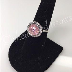 Pandora Jewelry - Pandora Brilliant legacy pink ring