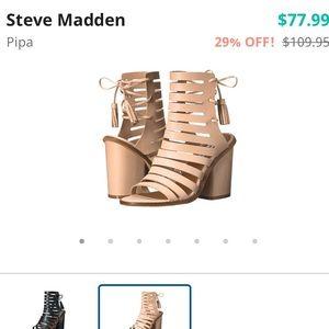 Steve Madden Shoes - 💫🆕 Steve Madden Pipa Leather Heels💫