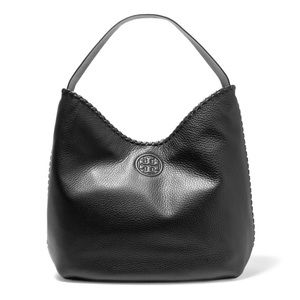 Tory Burch Marion Textured Leather Shoulder Bag