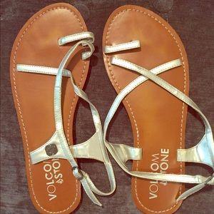 Volcom Shoes - SALE!!!LN VolcomSilverSandals