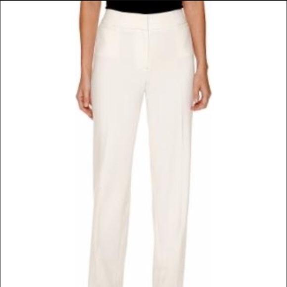 8ecb72344072d Liz Claiborne Audra white dress pants nwt