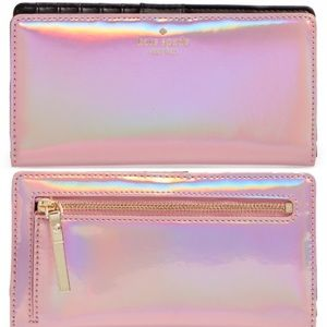 kate spade Handbags - Rainer Lane Iridescent Stacy wallet Kate spade ♠️
