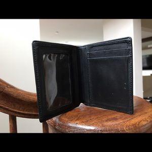 Tumi Other - Tumi black leather bifold wallet