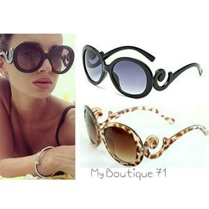 🐞HP🐞Retro Scroll Baroque Sunglasses