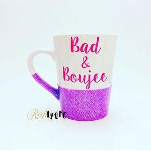 Bad and Boujee coffee mug